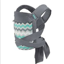 Sash Infantino Baby Carrier Wrap & Tie Mei Tai Carrier Gray Herringbone Pattern
