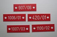 1 St. PVC Kunststoff Schilder für Rauchmelder Rauchmelderkennzeichnung