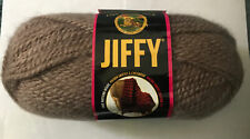 "Lion Brand Jiffy Yarn Mohair Look ""Taupe Mist 132""  3 oz. Skein"