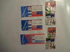 montreal canadiens forum hockey tickets stubs lot of 5