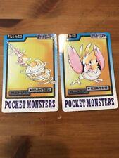 Japanese Bandai Carddass Pokemon Card Lot Spearow Fearow