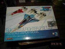 WAVE WHAM CRUSHER JOE 1/100 FIGHTER ONE FIGHTER TWO + GALLEON EX MODEL SEALED