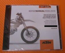 Werkstatthandbuch Reparaturanleitung KTM 400 / 450/ 500 / 530 EXC-F / XC-W