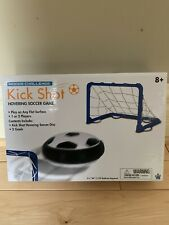 Kick Shot Hovering Soccer Game Indoor Challenge With Goals 8+