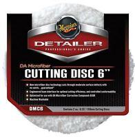 """Meguiars 6"""" DA Microfibre Cutting Pad Pack of 2"""