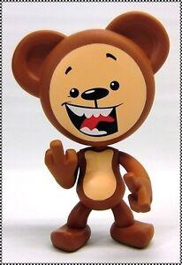 The Swear Bears Original BROWN BEAR Drastic Plastic Designer Vinyl Figure, 2004