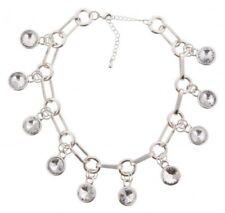 Markenlose 50-59.99 cm Modeschmuck-Halsketten & -Anhänger aus Kristall