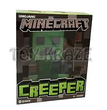 "MINECRAFT CREEPER FIGURE! GREEN MONSTER VINYL SOLID TOY JINX MOJANG 6"" NWT"