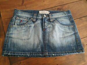 TERRANOVA blue denim mini skirt - S