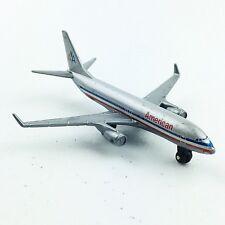 Mattel 2007 Die Cast American Airlines AA Boeing 737 600 Airplane 07