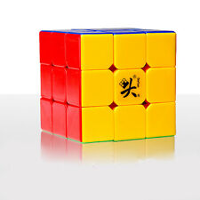 Dayan V 5 ZhanChi 3x3x3 Speed Cube Magic Puzzle Stickerless Smooth & Fast 5.7cm