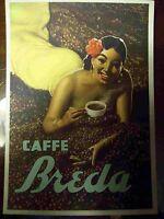 CARTOLINA CAFFE' BREDA BOCCASILE - NON VIAGGIATA