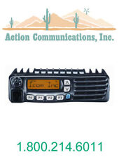 NEW ICOM IC-F6021-51, UHF 400-470 MHZ, 45 WATT, 128 CHANNEL TWO WAY RADIO