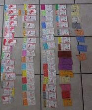 194 Alabama basketball stubs from 1976 to 1997 - Crimson Tide - MAKE AN OFFER!!!