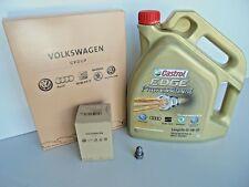 Genuine Volkswagen Audi Skoda Seat Service Kit 5w30 Oil Cabin Filter Golf A4
