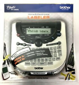 Brother New P-touch Label Maker Electronic Labeler System PT-1290RS