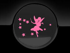 Pink Fairy Magic Fuel Cap Cover Car Sticker, 75mm, Decal Graphic Adhesive