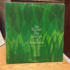 Les Baxter The Sounds of Adventure 2xLP Capitol VG+ Hits Fascination/Blue Tango