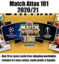 TOPPS MATCH ATTAX 101 2020-21