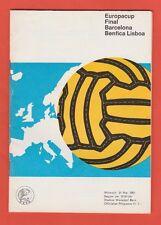 Orig.PRG   EC 1  1960/61   FINALE   FC BARCELONA - BENFICA LISSABON  !!  RARITÄT