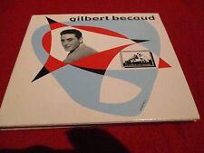 "CD DIGIPACK ""GILBERT BECAUD - LES CROIX"" 16 titres"