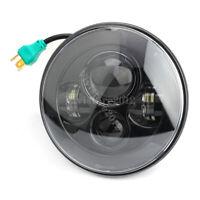 7'' Inch LED 4D Round Hi/Lo Beam Projector Headlight For Yamaha Harley-Davidson