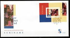 Suriname - 1999 Youth / Paintings - Mi. Bl. 78 clean unaddressed FDC