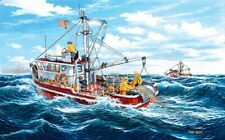 Jigsaw Puzzle Nautical Boat Ship Out of Fort Kodiak 300 pieces NEW made in USA