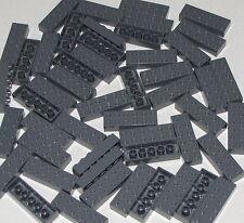 Lego Lot of 50 Dark Bluish Grey 2 x 6 Dot Bricks Building Blocks Pieces