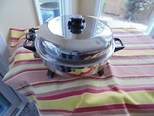 Health Craft Electric Skillet Waterless Electric Oil Liquid Core Automatic EUC
