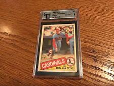 1985 Topps Box Set Collector's Edition (Tiffany) #551 Andy Van Slyke Card GAI 8