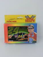 Jeff Gordon Playing Cards with collectable Tin