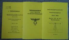 Entfernungsmesser 1mR36 und 0,7, 1 & 1,25Rf und WILD TM4S D.V. Beschreibung