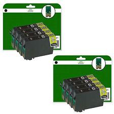 8 Black Ink Cartridges for Epson XP-322 XP-325 XP-412 XP-415 non-original E1811