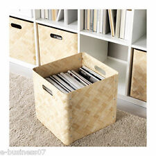 IKEA BULLIG Storage Box Basket for Toys Magazines Clothes fits Expedit Shelving