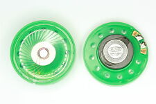 Small Green Loud Speaker 0.25W, 8Ohm (40mm Dia x 10mm thick)