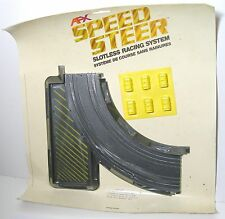 "1979 Aurora Speedsteer Ultra5 Slot less Car 9"" CURVE +BREAKOUT WALL TRACK #6056"