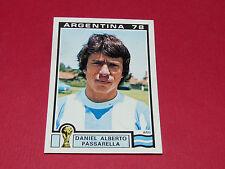 97 PASSARELLA 1978 ARGENTINA 78 FOOTBALL PANINI WORLD CUP STORY 1990 SONRIC'S