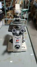Nikon Diaphot Inverted Phase Contrast Microscope With Xy Stage