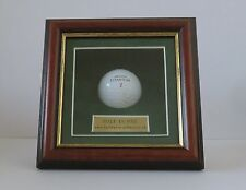 "Golf Ball. Display / Presentation Case. "" Hole In One """