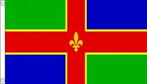 Lincolnshire Flag 5 x 3 FT - 100% Polyester With Eyelets - Flag - English County