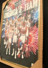 USA Dream Team Jordan Framed 1992 Starline America's Team Poster 20x16 New