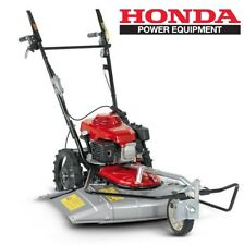 Rasaerba professionale Honda falciatutto UM536 per prati incolti + 2 velocità.