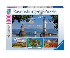 """NEW RAVENSBURGER Jigsaw Puzzle 1000 Pieces Tiles """"Bodensee"""""""