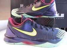 Nike Zoom Kobe Venomenon 4 Negro Limón Chiffon Lila Brillo en Oscuridad 13