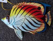 Tropical Fish Tiki Bar & Christmas Ornament Beach Nautical Decor TF018