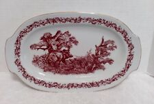 Jlmenau Graf Von Hennebert Black Forest Platter Rare