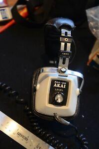 Akai ASE 20 1970's Stereo Headphones . VGC