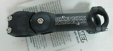"""Dimention Adjustable Ahead Stem 1 1/8""""  ahead 25.4 Blk 125mm 70-130 Angle NEW"""
