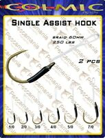 Amo colmic assist hook Vertical Jigging 60mm 250LBS 2pcs